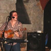 rachel at vinyl club lausanne switzerland 2011