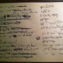 """""""hands"""" lyric sheet 1"""